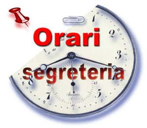 LOGO orari Segreteria